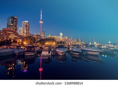 Toronto Marina Quay West, Ontario, Canada