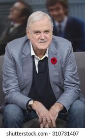 TORONTO - NOVEMBER 10 2014: John Cleese visits The Social in Toronto on November 10, 2014