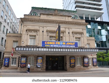 TORONTO, ON / CANADA - MAY 26, 2018: The Royal Alexandra theater, shown here, is the oldest continuously operating theatre in North America.