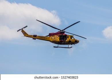 Toronto, ON/Canada - 08 31 2019: Toronto International Air Show