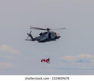 Toronto, ON/Canada - August 08 2019: Toronto International Air Show