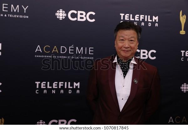 TORONTO, ONTARIO, CANADA - MARCH 11, 2018: Tzi Ma at Canadian Screen Awards.