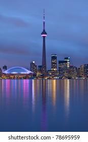 Toronto, Ontario, Kanada - nachts