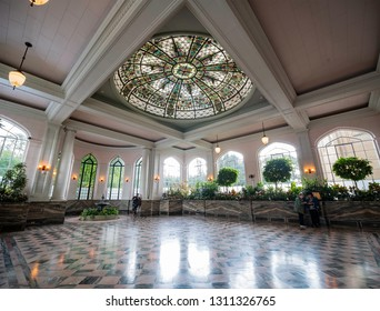 Toronto, SEP 29: Interior view of the famous Casa Loma on SEP 29, 2018 at Toronto, Canada