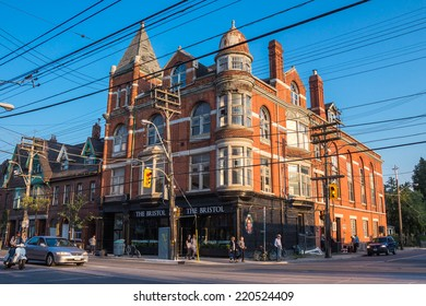 TORONTO - SEPTEMBER 29, 2014: Built in 1889, The Great Hall on Queen Street in Toronto, Canada  turned into a music venue in the 1980's.