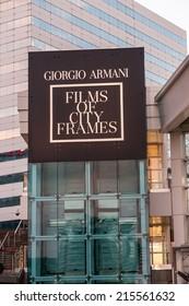 Toronto - September 6, 2014: The Giorgio Armani Films of City Frames Cocktail Party Black Carpet at CN Tower, TIFF 2014.