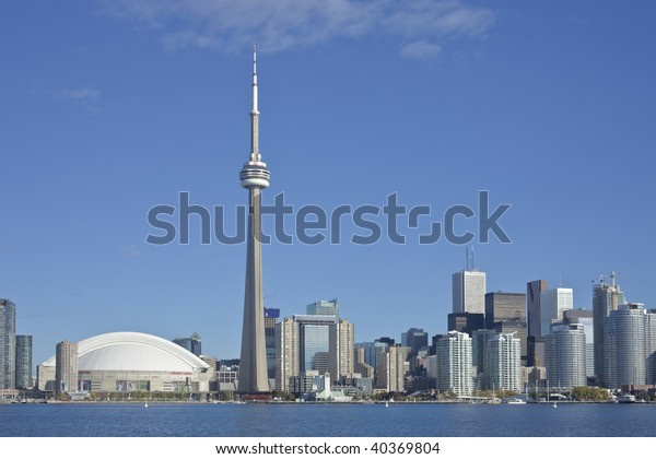 Toronto Skyline. October 2009. High resolution.