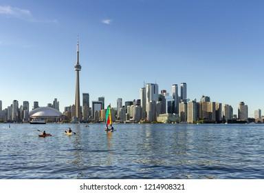 Toronto Skyline in a Sunny Day
