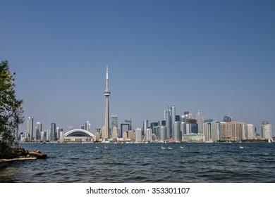 Toronto Skyline-Lake View