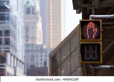 Toronto Street Lights, Skylines, City Street Building View, Toronto, Ontario, Canada