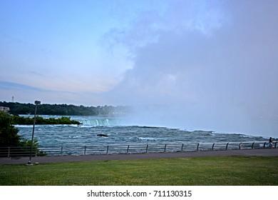 TORONTO-CANADA-JULY 15 :  Niagara Falls on July 15, 2014 Toronto Canada