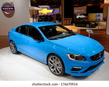 TORONTO-FEBRUARY 14: The all New 2015 Volvo Polestar S60 at the 2014 Canadian International Auto Show on February 14, 2014 in Toronto