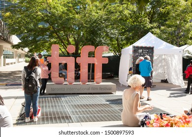 TORONTO-SEPTEMBER 9, 2019: The TIFF or Toronto International Film Festival is a very popular annual event that draws many tourists to the city.