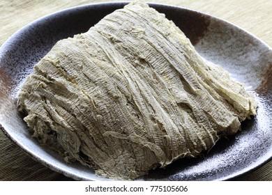 Tororo kombu, shredded dried kelp, Japanrse food
