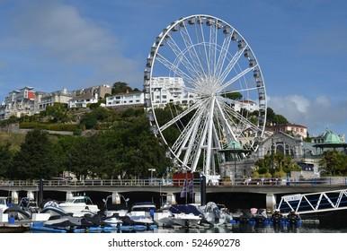 Torquay Ferris Wheel, Devon