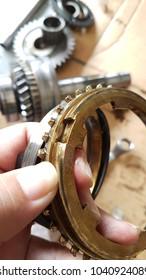 torque converter inner part damage forklift