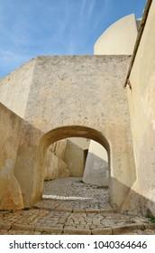 Torra di Calvi is a Genoese tower and the symbol of the Corsican coastal town Calvi.