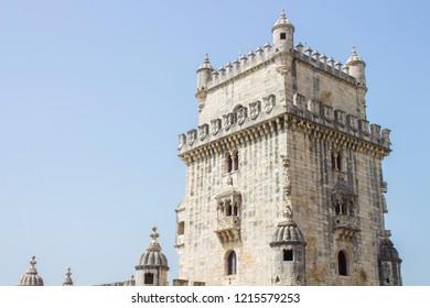 Torre de Belem/Belem Tower, Lisboa, Portugal, in august 2018