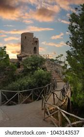 Torre de ses Animes on Mallorca Island