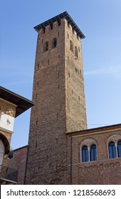 Torre degli Anziani medieval tower in Padua, Italy