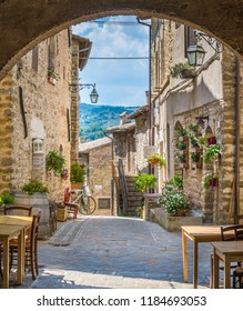 Torre del Colle, small village near Bevagna, province of Perugia, in the Umbria region of Italy.