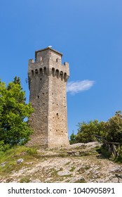 Torre del Montale, one of the three towers in San Marino's Mount Titano