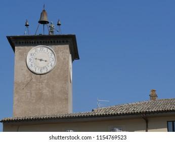 Torre del Moro or Moro tower in Orvieto, Italy