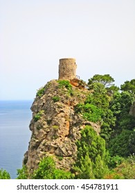 Torre del Verger - northwest coast of Majorca, near Banyalbufar, Sierra de Tramuntana mountains