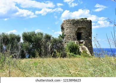 Torre di Joppolo watch tower in Calabria near Nicotera village