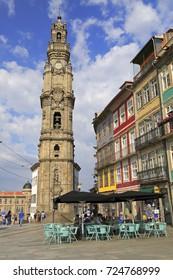 Torre dos Clerigos in Porto, Portugal