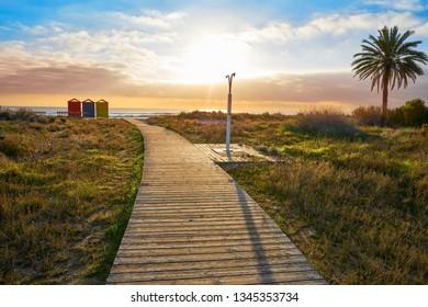 Torre la Sal Beach in Castellon of Spain