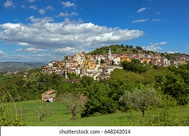 Torre Le Nocelle (Avellino, Italy) - Panoramic view of the old town