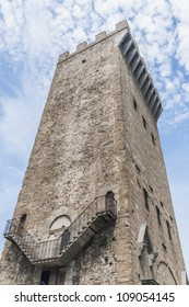 Torre San Niccolo located at Piazza Giuseppe Poggi in Florence, Italy