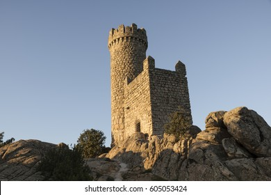 Torrelodones's castle. Madrid, Spain.