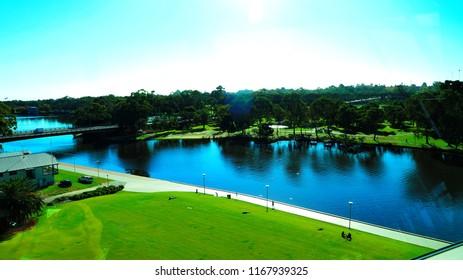 Torrens River Adelaide Australia