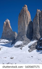 Torres Del Paine National Park At daylight