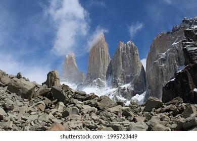 Torres del Paine National park at Chilean Patagonia
