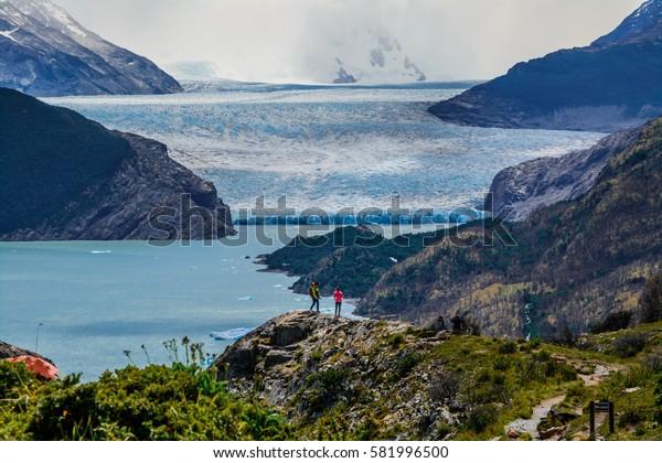 Torres Del Paine National Park trek to Glacier Grey UNESCO Chili Patagonia