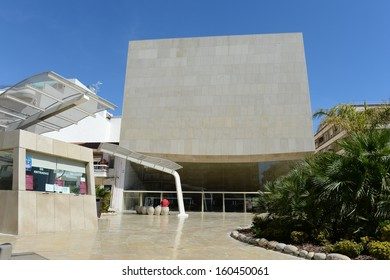 TORREVIEJA, SPAIN - MAY 10:Torrevieja is a Mediterranean city, with a privileged location and the unique climatic conditions. Municipal Theatre In May 10, 2012 in Torrevieja, Spain.