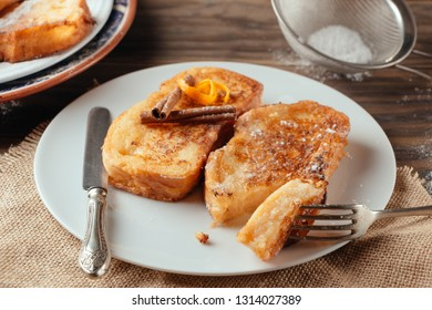 """Torrijas"", typical spanish dessert in Lent and Easter"