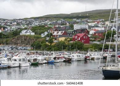 Torshavn, Faroe Islands, Denmark.