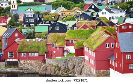 Torshavn on  Faeroe islands
