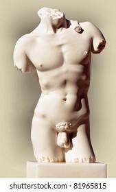 Torso of David
