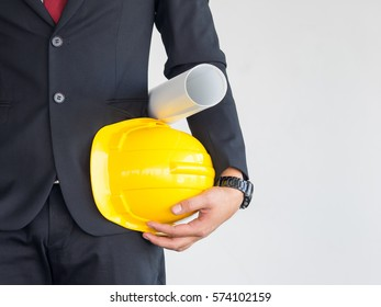 Helmet with an inscription images stock photos vectors shutterstock torso engineer worker or architect holding in hand blueprint and yellow plastic helmet hardhat on malvernweather Images