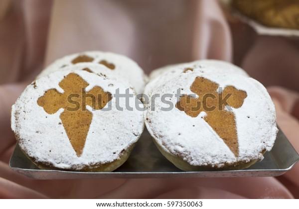 Torta de Santiago / Santiago Cakes in Cantabria Spain