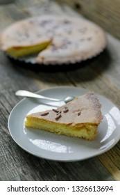 Torta di nonna - italian pastry