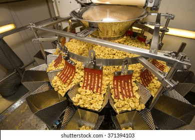 Tortellini Pasta production line. Packaging machinery
