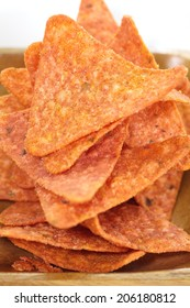 Tortilla chips tacos
