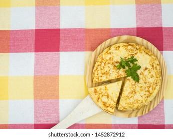Tortilla de patatas (typical Spanish cuisine)