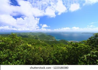 Tortola from Sage Mountain National Park British Virgin Islands